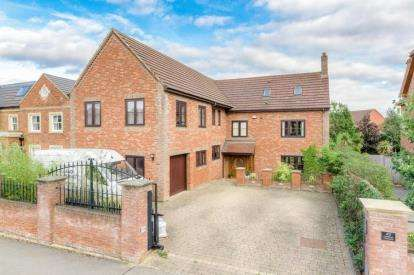 5 Bedrooms Detached House for sale in Ashford Crescent, Grange Farm, Milton Keynes