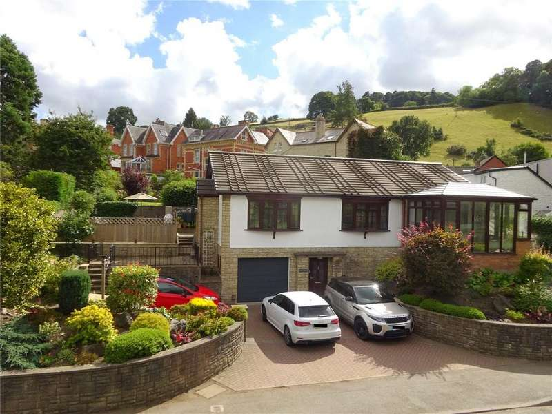 3 Bedrooms Detached Bungalow for sale in Ludlow Road, Knighton, Powys