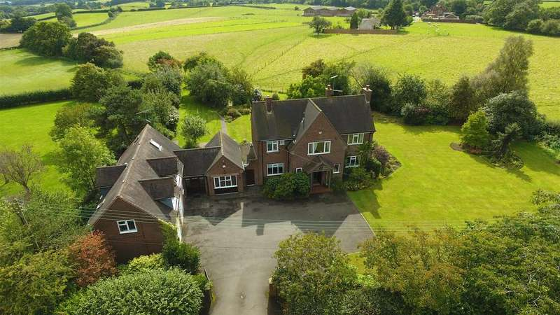 6 Bedrooms Detached House for sale in Hollow Tree Lane, Vigo, Bromsgrove, Worcestershire