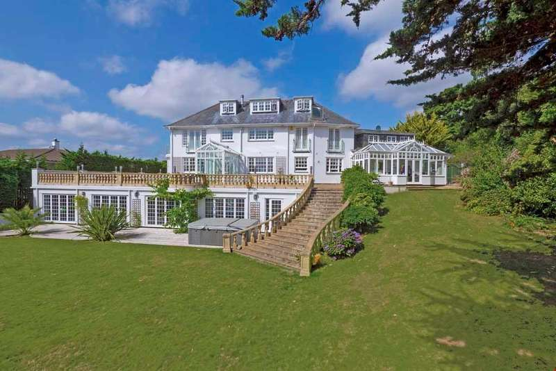 5 Bedrooms Detached House for sale in Restronguet Point, Feock, Nr. Truro, South Cornwall