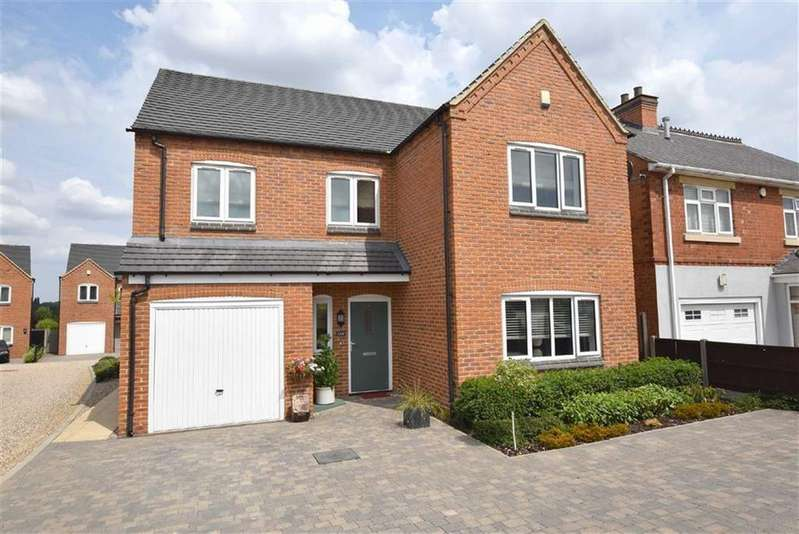 4 Bedrooms Detached House for sale in Sapcote Road, Burbage, Leicestershire