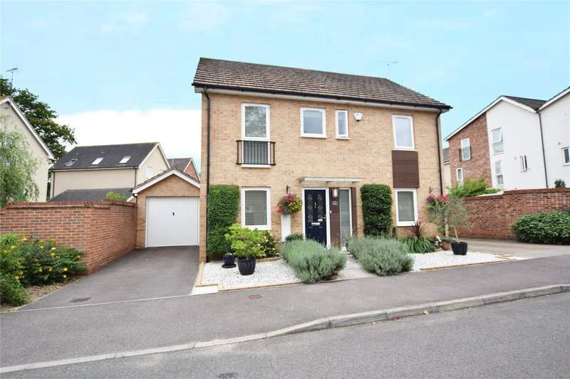 4 Bedrooms Detached House for sale in Vulcan Drive, The Parks, Bracknell, Berkshire, RG12