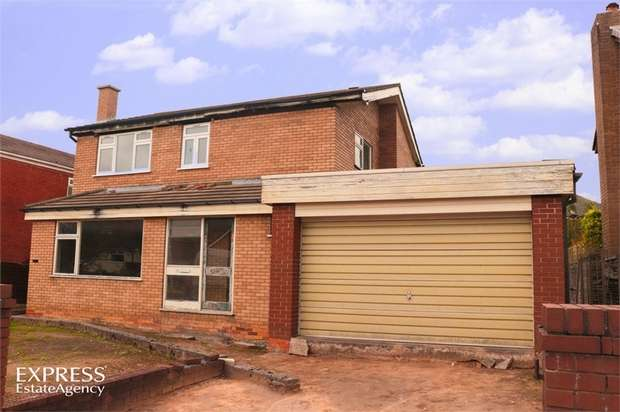 3 Bedrooms Detached House for sale in Farndale, Widnes, Cheshire