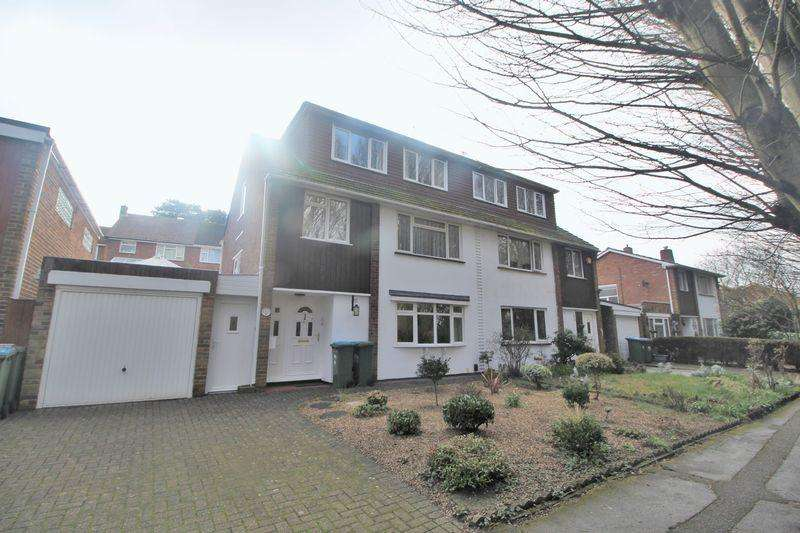 4 Bedrooms Semi Detached House for sale in River Walk, Southampton