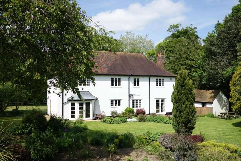 4 Bedrooms Detached House for sale in Church Road, Felsham