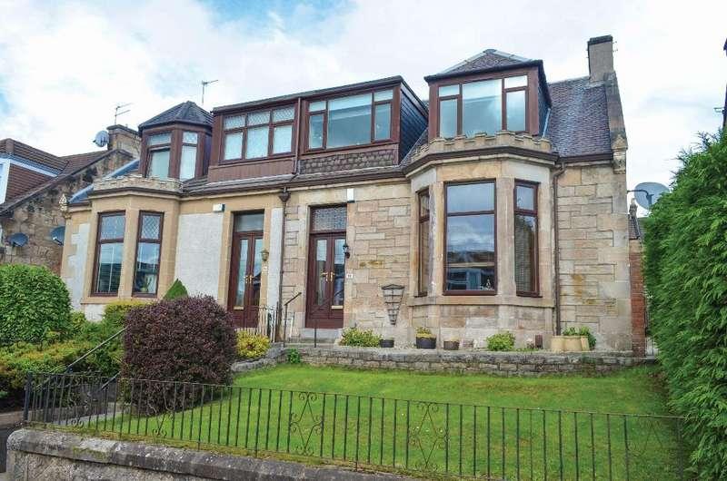 3 Bedrooms Semi Detached House for sale in Cathkin Avenue, Rutherglen, Glasgow, G73 3HN