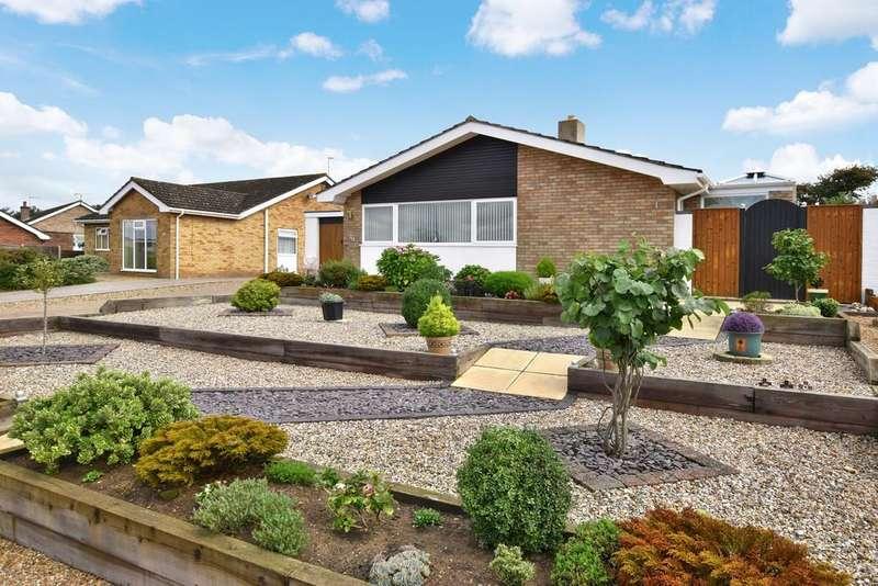 3 Bedrooms Detached Bungalow for sale in Beech Avenue, Sheringham
