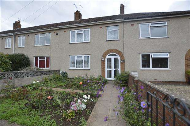 3 Bedrooms Terraced House for sale in Flaxpits Lane, Winterbourne, BRISTOL, BS36 1JY
