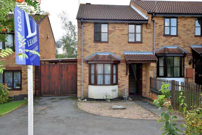 2 Bedrooms Semi Detached House for sale in Acer Close, Loughborough