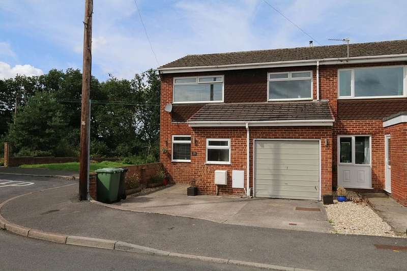 3 Bedrooms End Of Terrace House for sale in Nightingale Close, Bristol, Bristol, BS36 2HB