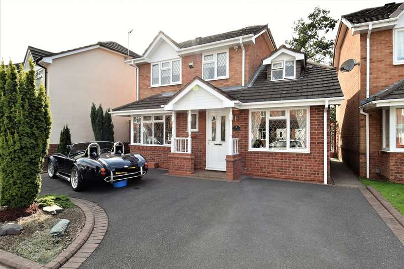 3 Bedrooms Detached House for sale in York Close, Bournville, Birmingham, B30