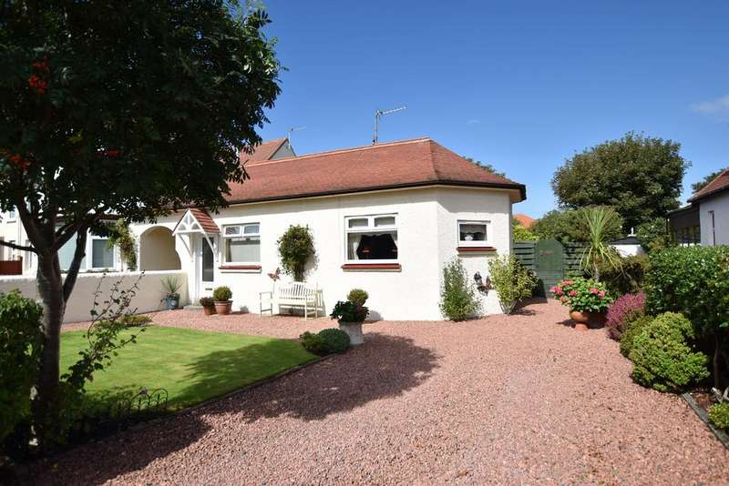 2 Bedrooms Semi Detached Bungalow for sale in 28 Darley Crescent, Troon, KA10 6JH