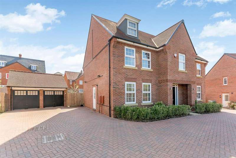 5 Bedrooms Detached House for sale in Edging Lane, Buckingham, Buckinghamshire