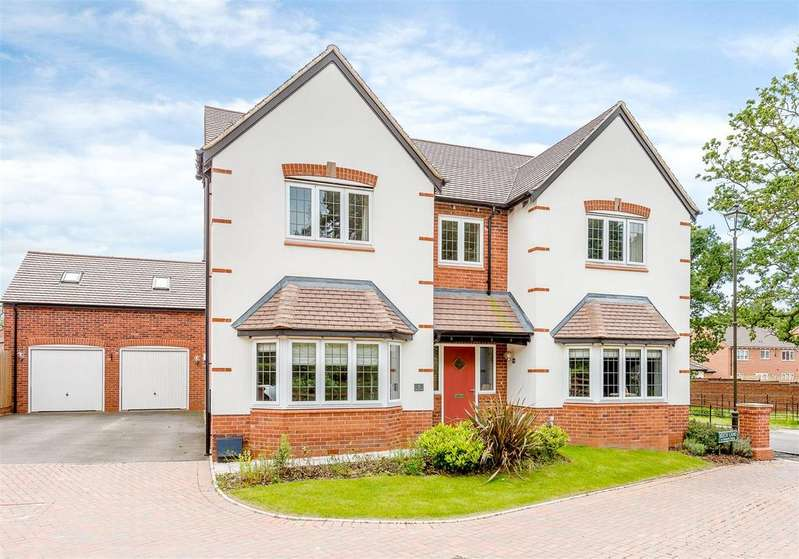 5 Bedrooms Detached House for sale in Beech Lane, Dickens Heath