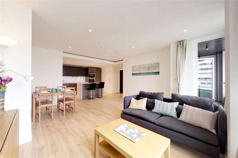 2 Bedrooms Apartment Flat for sale in Marquis House, 45 Beadon Road, London, W6