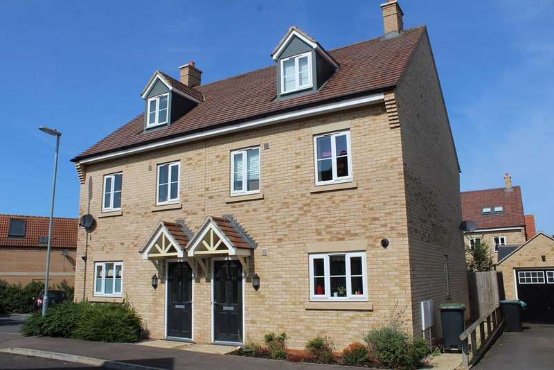 3 Bedrooms House for sale in Torquay Close, Biggleswade, SG18