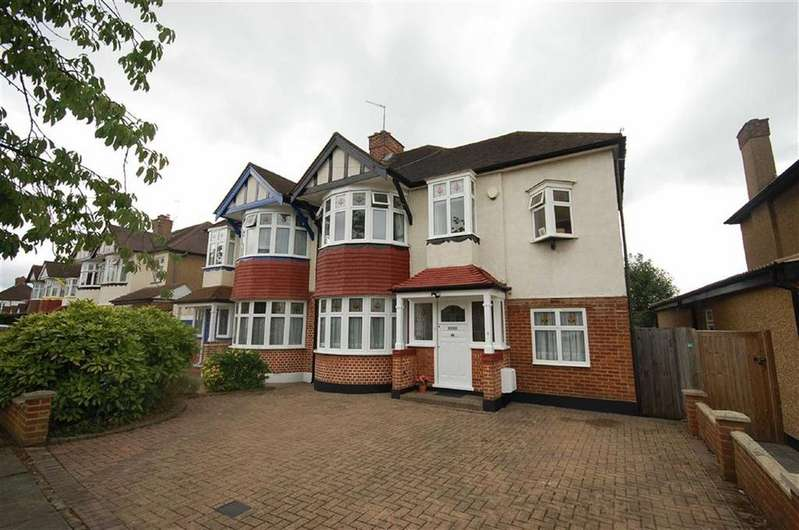 4 Bedrooms Semi Detached House for sale in St Margarets Road, North Ruislip