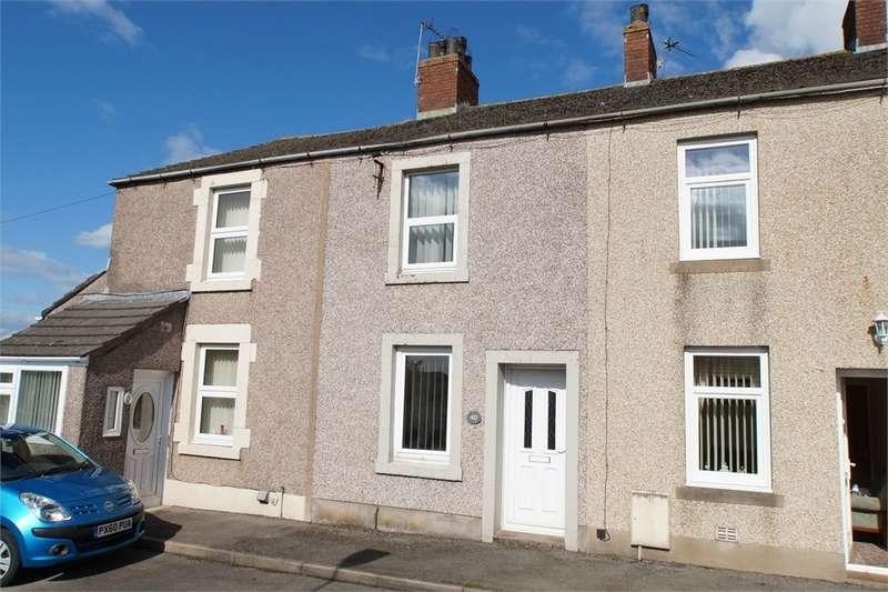 2 Bedrooms Terraced House for sale in CA7 3DU Springkell, Aspatria, Wigton, Cumbria