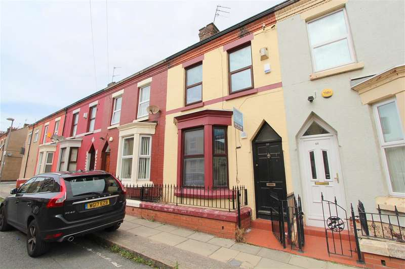 4 Bedrooms Terraced House for sale in Cotswold Street, Kensington, Liverpool