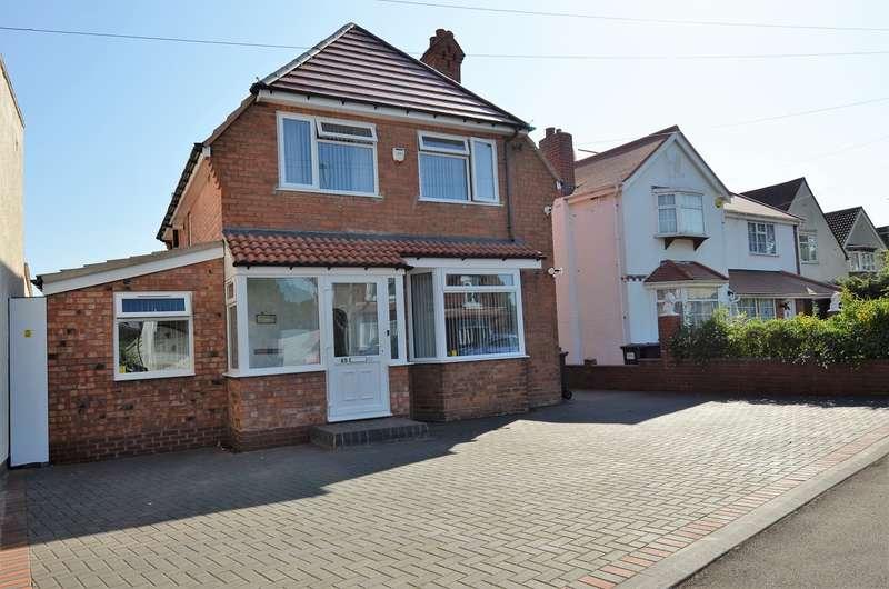 3 Bedrooms Detached House for sale in Grove Road, Kings Heath, Birmingham, B14