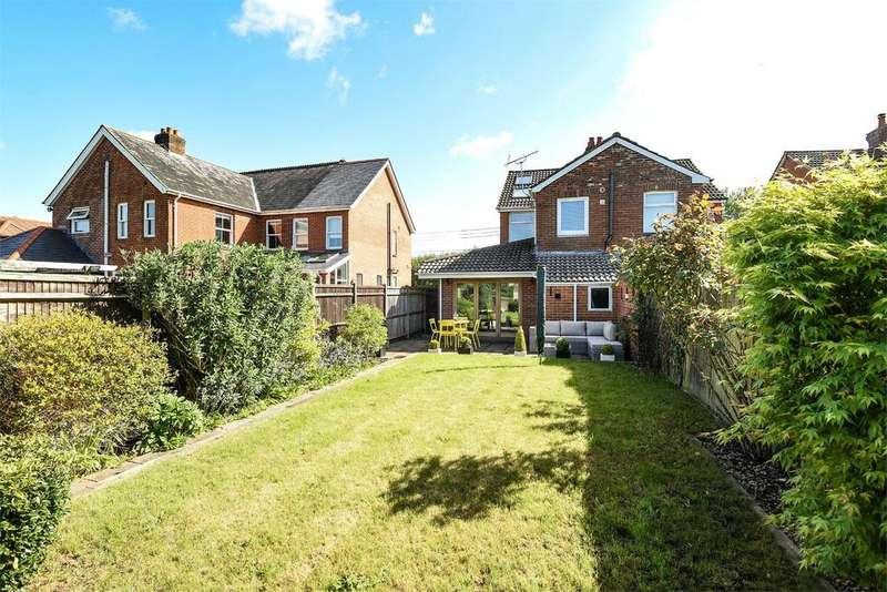 3 Bedrooms Semi Detached House for sale in Brambridge, Brambridge, Winchester, Hampshire, SO50