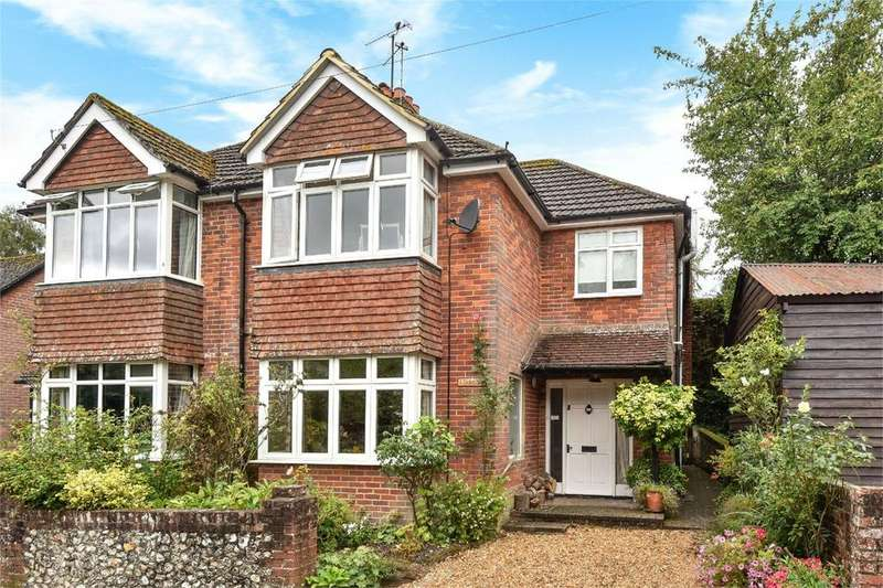 3 Bedrooms Semi Detached House for sale in Doctors Lane, West Meon, Hampshire, GU32