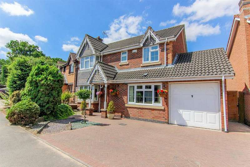 5 Bedrooms Detached House for sale in The Sycamores, Bedworth