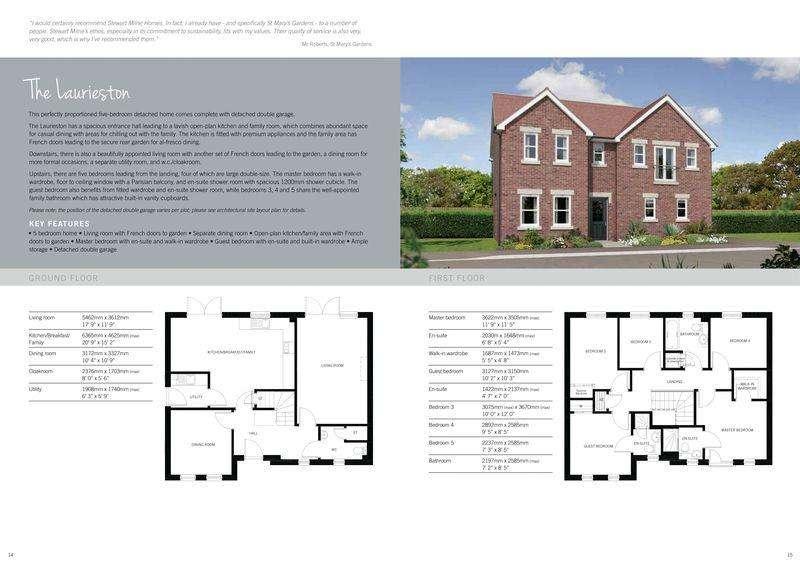 5 Bedrooms Detached House for sale in Hill Top Grange, Davenham, CW9 8JU