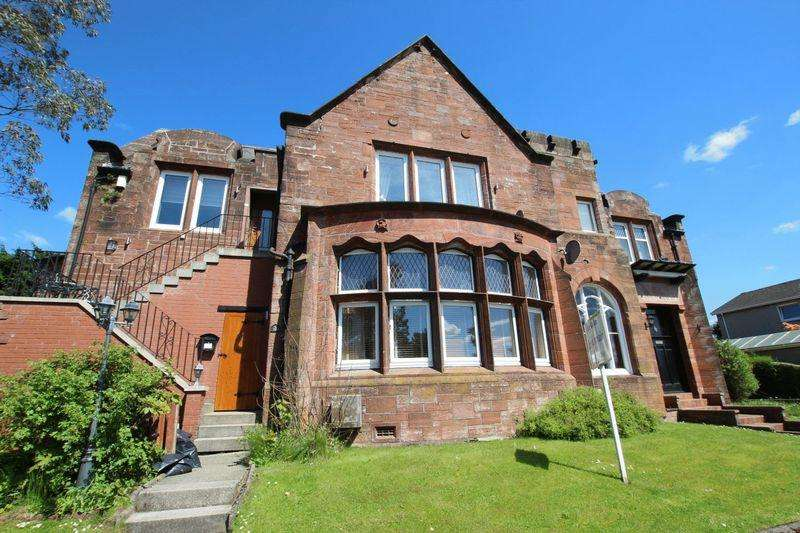 2 Bedrooms Flat for sale in Mansewood Drive, Dumbarton