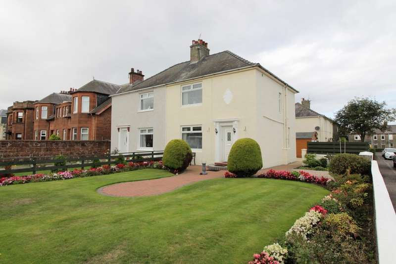 3 Bedrooms Semi Detached House for sale in Woodfield Crescent, Ayr, KA8