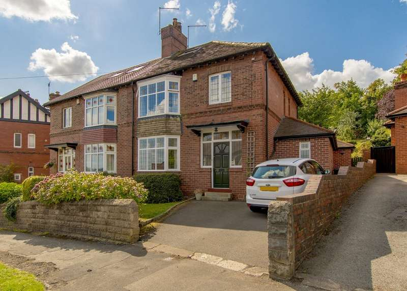 4 Bedrooms Semi Detached House for sale in 47 Endcliffe Glen Road, Endcliffe, S11 8RW