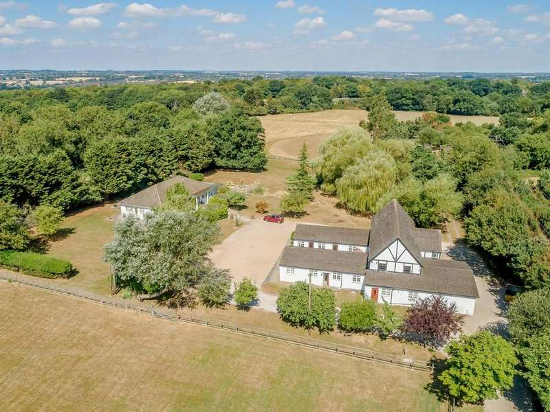 4 Bedrooms Detached House for sale in Stondon Massey, Brentwood, Essex, CM15