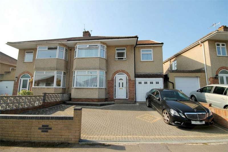 5 Bedrooms Semi Detached House for sale in Fouracre Road, Downend, Bristol