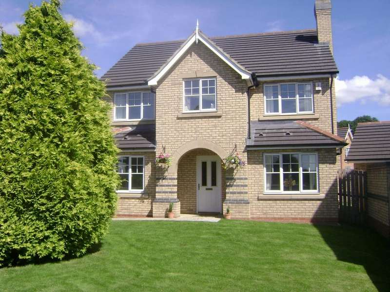 4 Bedrooms Detached House for sale in Priorswood Fir Tree Crook