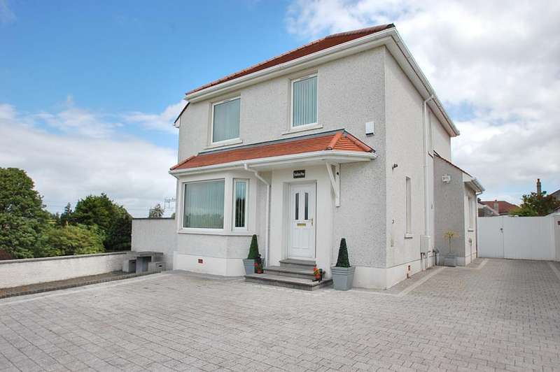 4 Bedrooms Detached House for sale in Salachy, Cromwell Road West, Falkirk FK1