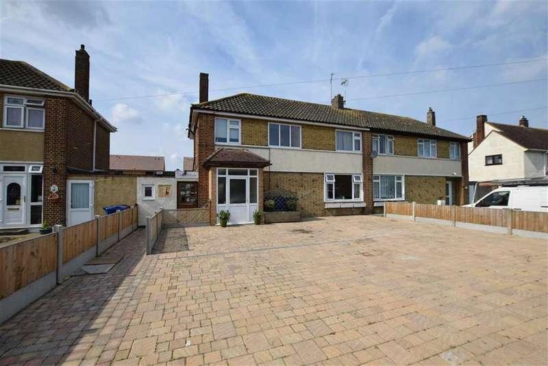 3 Bedrooms Semi Detached House for sale in Princess Margaret Road, East Tilbury, Essex