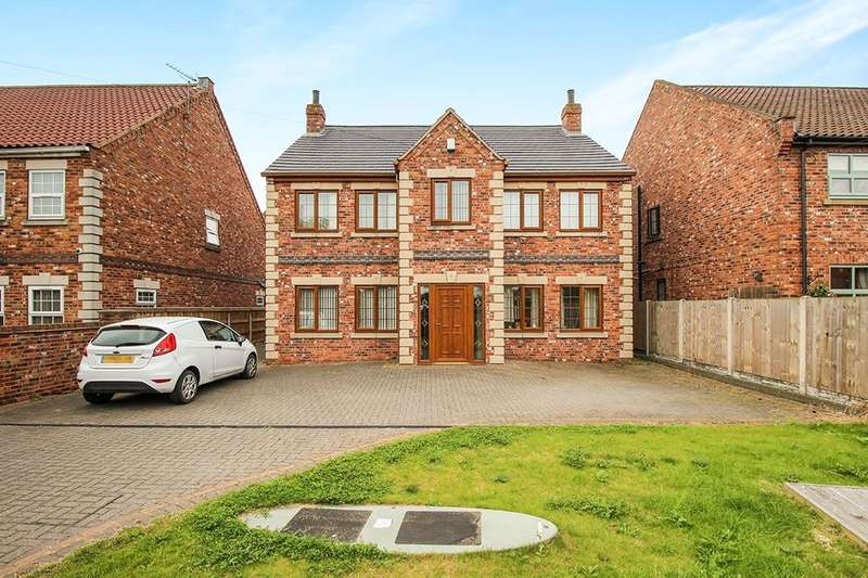 4 Bedrooms Detached House for sale in Toffee House Trumfleet Lane, Moss, Doncaster, DN6