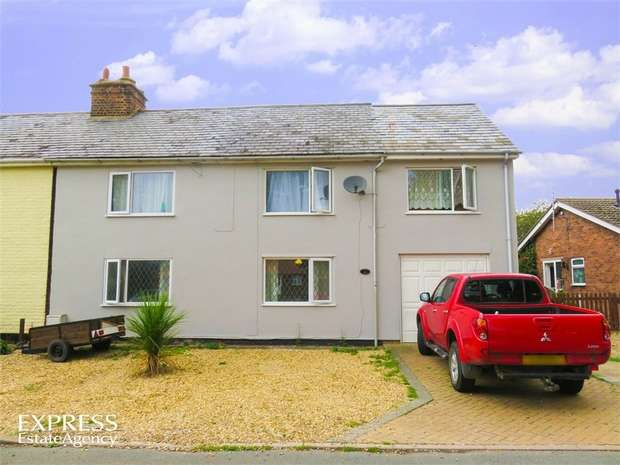 5 Bedrooms Semi Detached House for sale in Hocklesgate, Fleet, Holbeach, Spalding, Lincolnshire