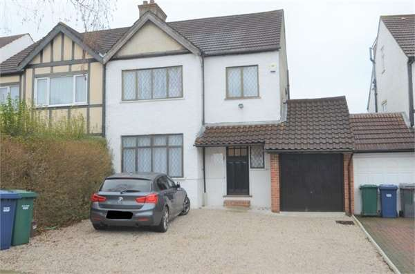 3 Bedrooms Semi Detached House for sale in Delamere Gardens, Mill Hill