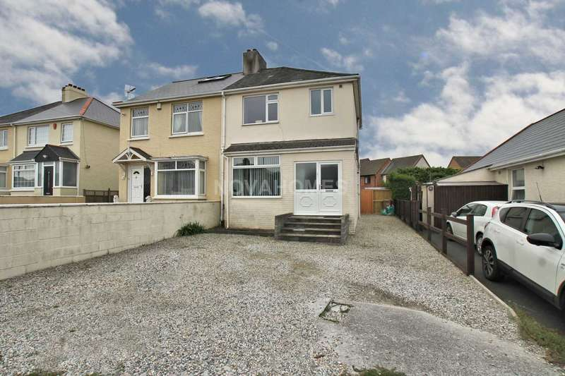 3 Bedrooms Semi Detached House for sale in Crownhill Road, Crownhill, PL5 3SN