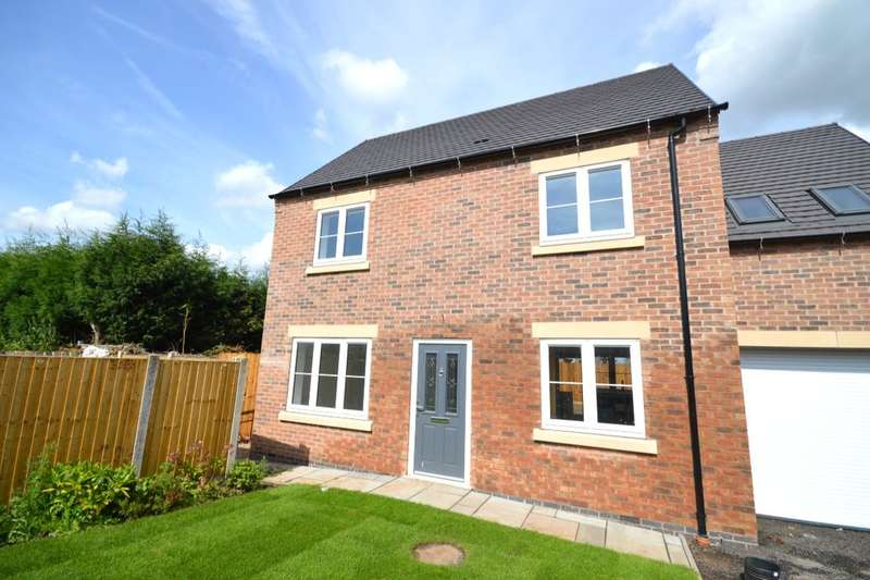 3 Bedrooms Detached House for sale in The Brambles Ashby Road, Woodville, Swadlincote, DE11