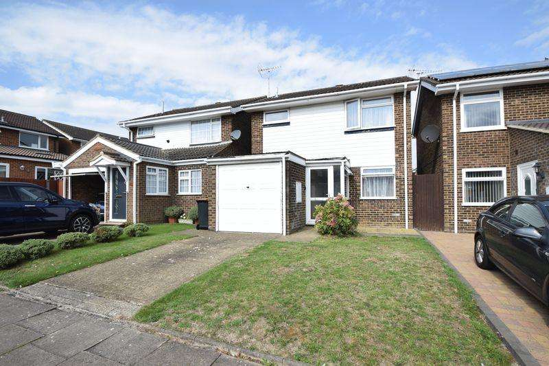 3 Bedrooms Detached House for sale in Campian Close, Dunstable