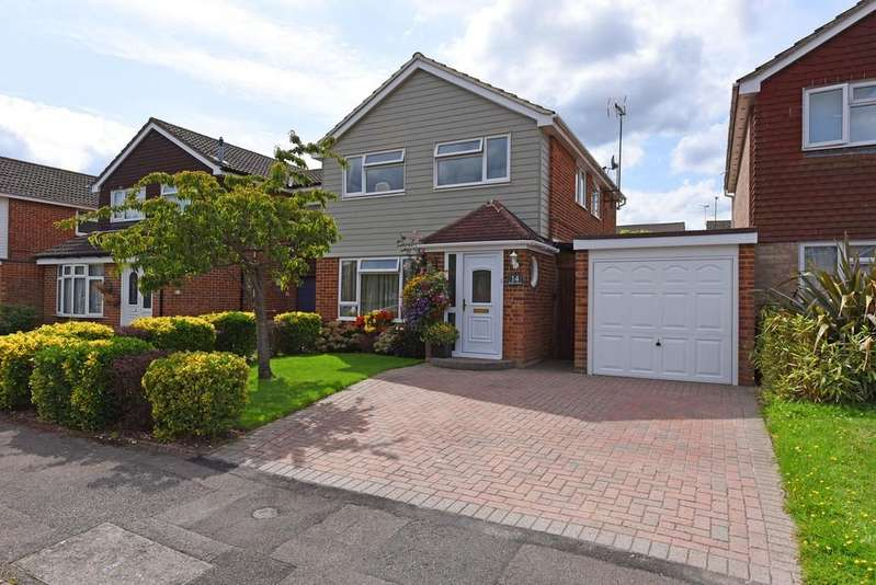 4 Bedrooms Detached House for sale in Shefford Crescent, Wokingham, Berkshire