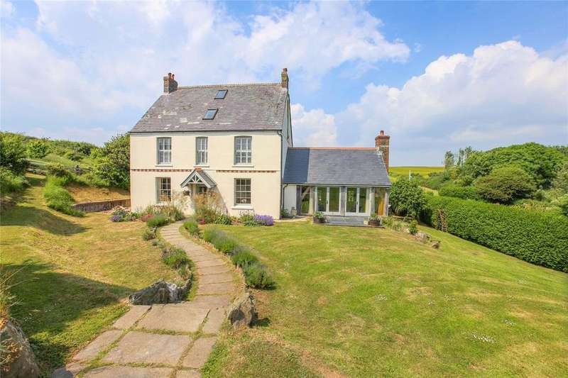 5 Bedrooms Detached House for sale in Broad Downs, Malborough, Kingsbridge, Devon, TQ7
