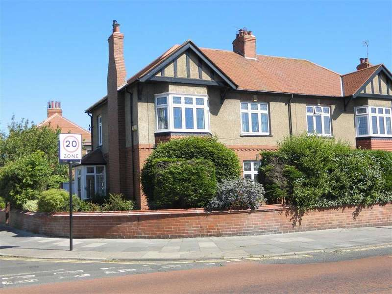 4 Bedrooms Semi Detached House for sale in Mill Grove, Tynemouth, North Shields, NE30