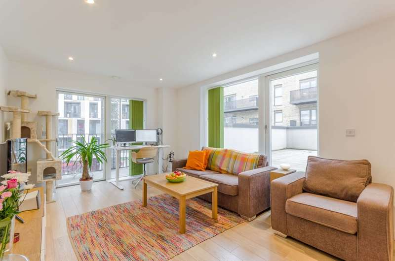 2 Bedrooms Flat for sale in Atkins Square, Hackney Downs, E8