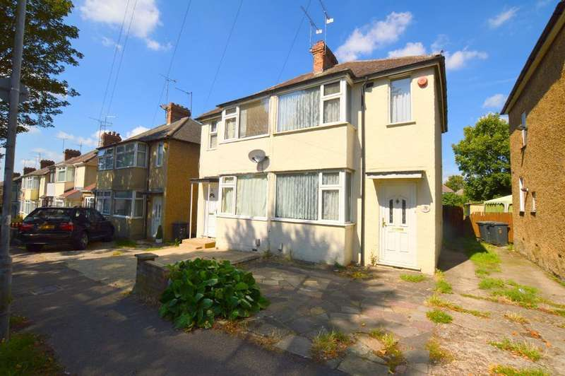 2 Bedrooms Semi Detached House for sale in Fourth Avenue, Luton, LU3 3BU