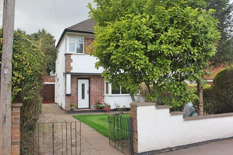 3 Bedrooms Semi Detached House for sale in Leicester Road, Wigston, Leicester