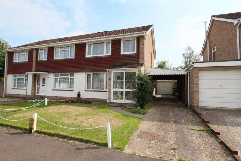 3 Bedrooms Semi Detached House for sale in Allen Road, Hedge End SO30