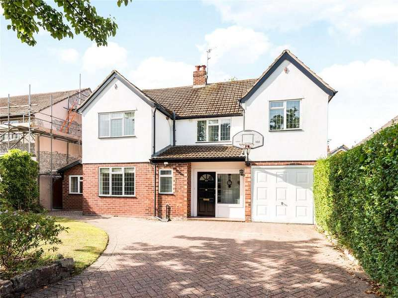 4 Bedrooms Detached House for sale in Broad Walk, Wilmslow, Cheshire, SK9
